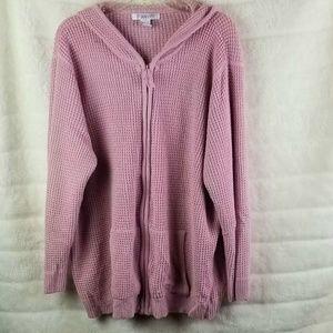 Roamans knitted Hoodie